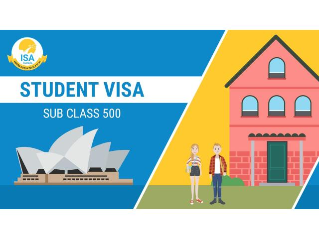 Student Subclass 500   visa subclass 500   ISA Migrations - 1