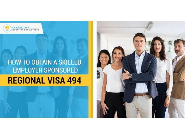 Start Working In Australia With Visa Subclass 494 - 1