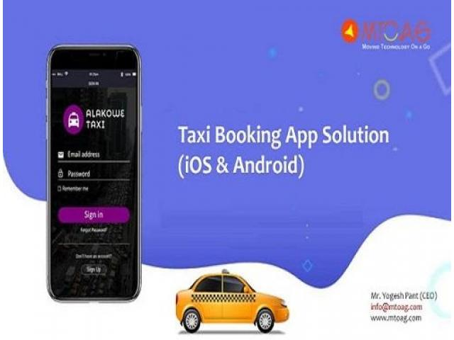 taxi app developer | taxi app development - 1