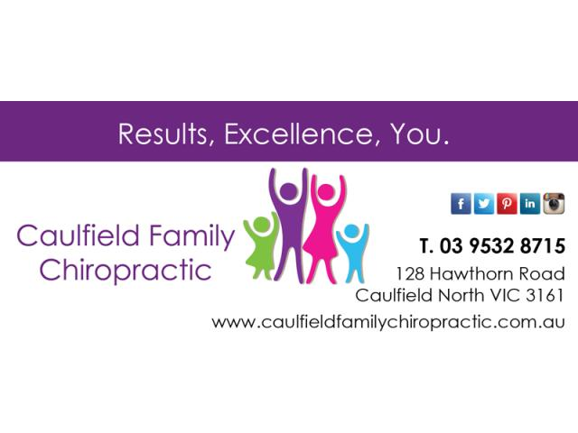 Myotherapy in Caulfield - Caulfield Family Chiropractic - 1