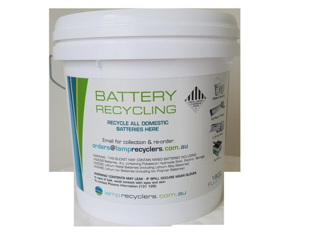 Battery Recycling And Fluorescent Bulb Disposal - 1