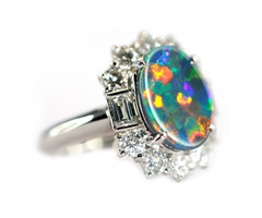 Buy Australian Opal Rings in Sydney at Best Price