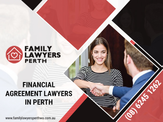 Want to hire family lawyers in Perth to draft financial agreement - 1