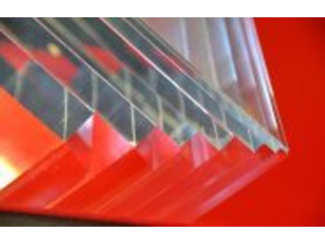 Clear Plexiglass - 1
