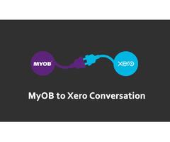 Myob To Xero Conversion Services