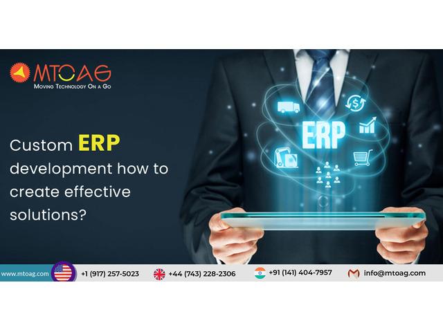 Custom ERP development - 1