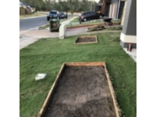 Turfing & Turf Preparation Services - Rogers Little Loaders. - 1
