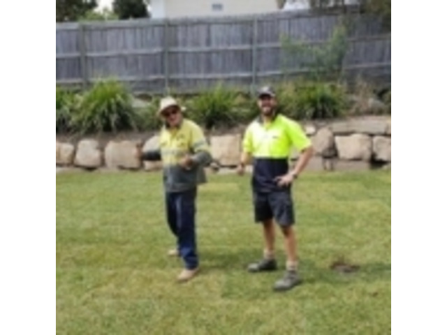 Turfing & Turf Preparation Services - Rogers Little Loaders. - 3