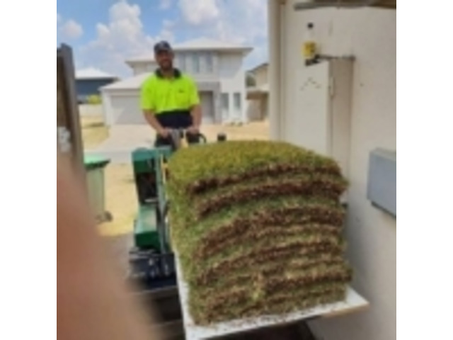 Turfing & Turf Preparation Services - Rogers Little Loaders. - 8