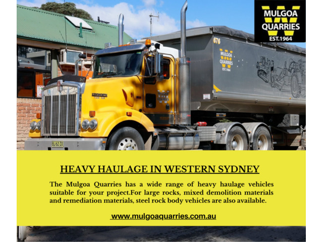 Hire Professional Heavy Haulage Transport in Sydney - 1