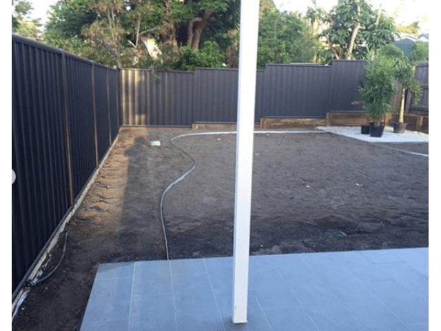 Full irrigation System Installation - Rogers Little Loaders. - 3