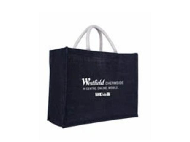hessian shopping bags - 1