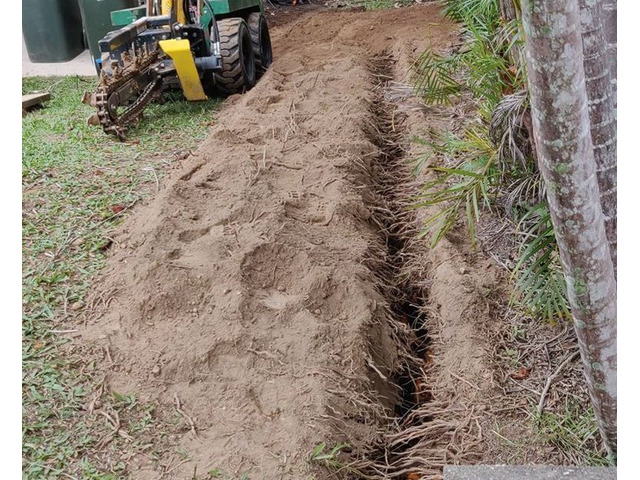 Electrical Cable Trenching Services - Rogers Little Loaders. - 2