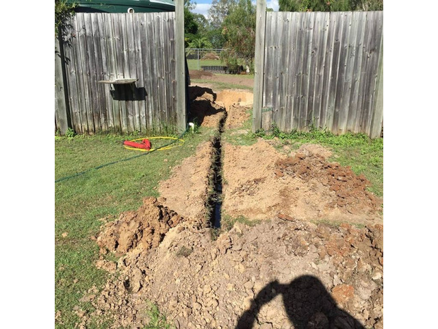 House Drainage Routing Services - Rogers Little Loaders. - 4