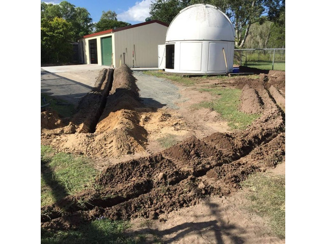 House Irrigation Routing Services - Rogers Little Loaders. - 2