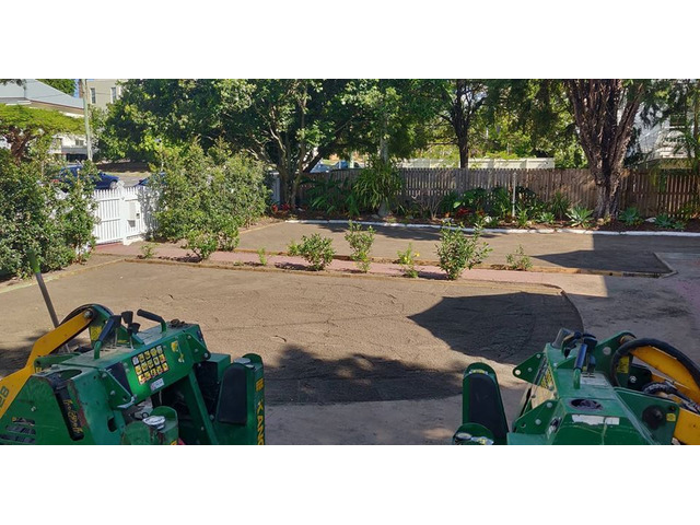 Lawn Front ReTurfing Services - Rogers Little Loaders. - 2