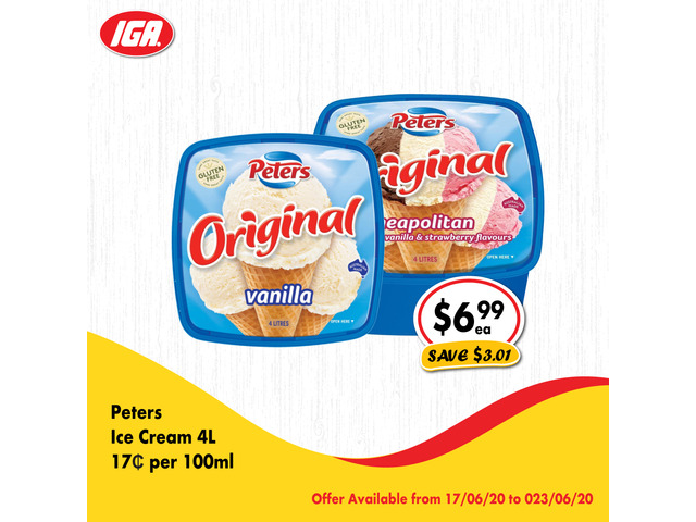 Grocery item For Sale IGA Ravenswood - 1
