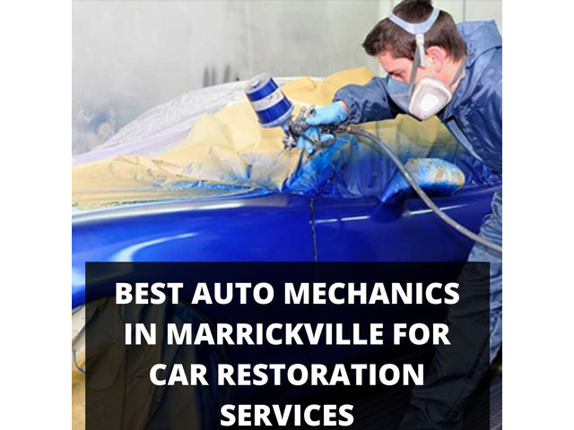 Best Auto Mechanics in Marrickville for Car Restoration Services - 1