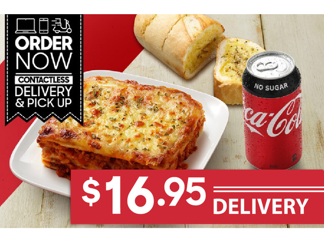Pasta Meal Deal For Sale Pizza Hut Orange - 1