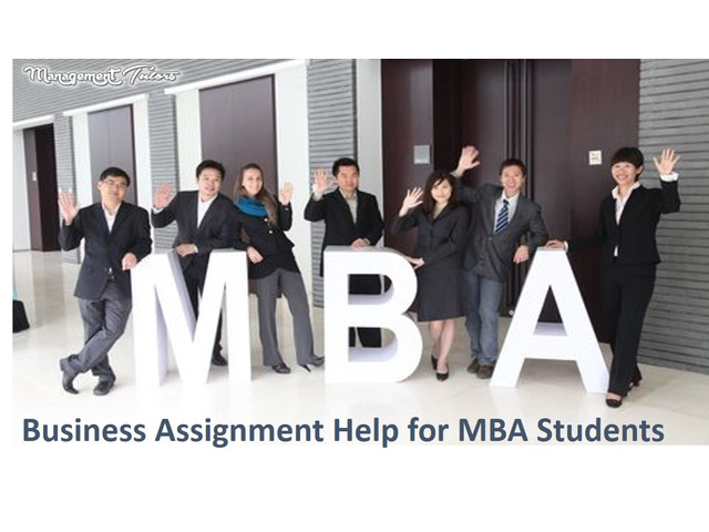 Business Assignment Help for MBA Students - 1