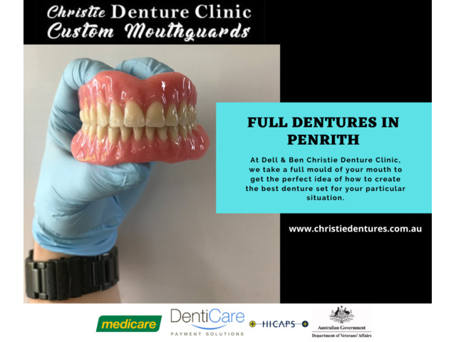 Full Dentures Clinic in Penrith is Perfect for Your Teeth - 1