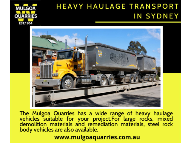Heavy Haulage Transport Sydney - Low Cost & On-Time - 1