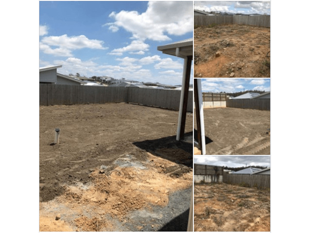 Concrete slabs lifted, busted and removed  with ease on June 23, 2018. - 3