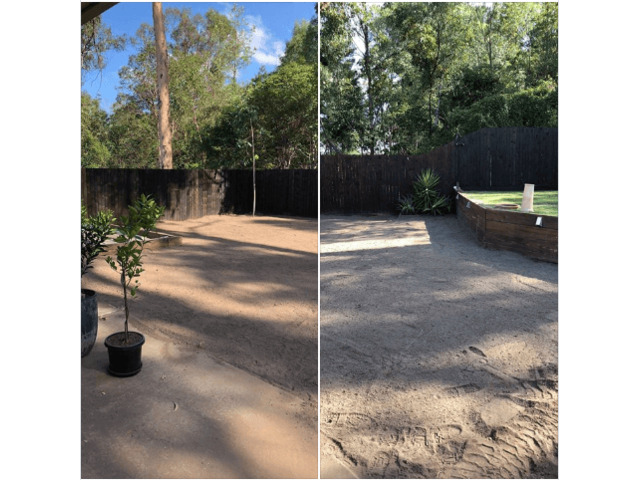 Concrete slabs lifted, busted and removed  with ease on June 23, 2018. - 4