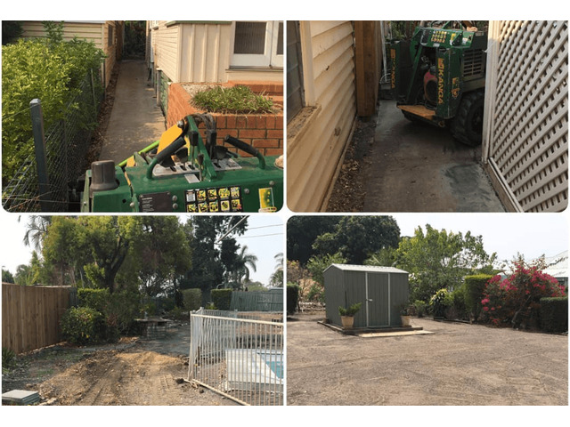 Concrete slabs lifted, busted and removed  with ease on June 23, 2018. - 5