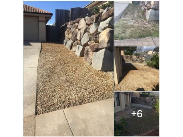 Time lapse video of 2 day landscaping project on January 2019. - 3