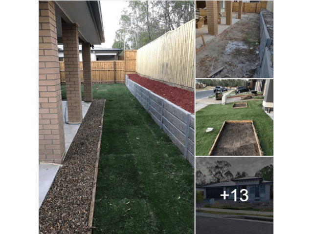 Time lapse video of 2 day landscaping project on January 2019. - 5