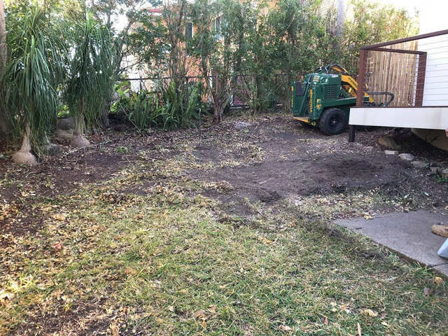 Returfing Front Yard Makeover - Rogers Little Loaders. - 4