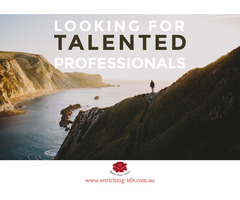 Enriching Life seeks Talented Professionals