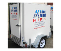 mobile coolroom Trailer
