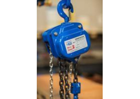 Chain Block and Tackle - Hoisting Equipment Specialists (HES)