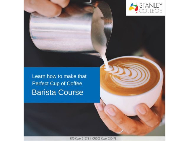Are you thinking of embarking on a career as a barista? Join our barista coffee workshop - 1