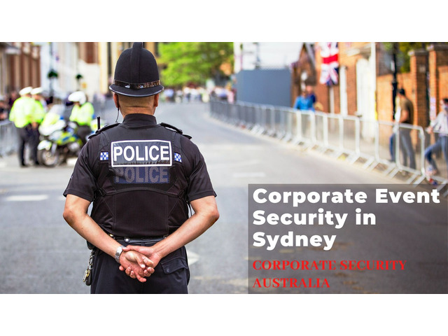 Get the Best Corporate Event Security in Sydney - 1