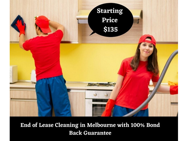 End of lease Vacate Bond Back Moving Out Cleaning Service (Starting $135) - 1