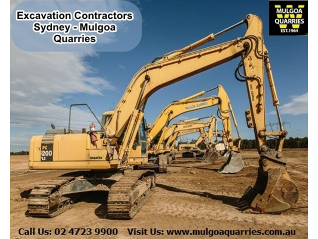 Excavation Company Sydney | Mulgoa Quarries - 1