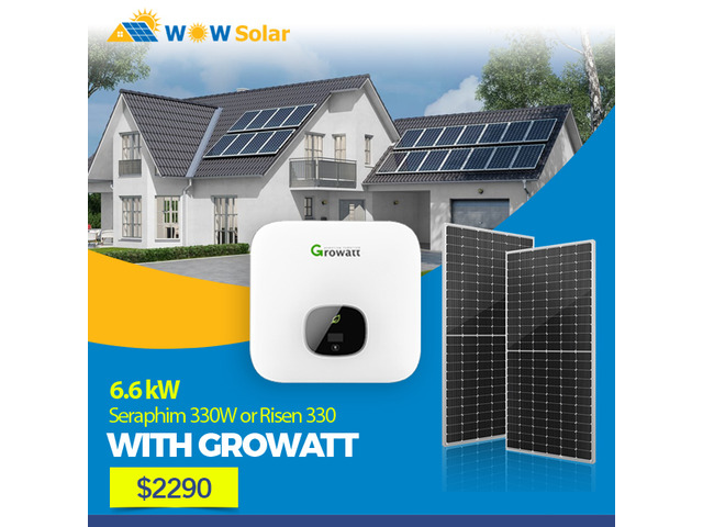 Save more with Solar: Attractive residential commercial solar deals by WOW Solar - 1
