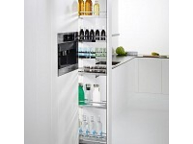 Cost-effective Pull-Out Pantry Storage Unit for Your Kitchen - 1