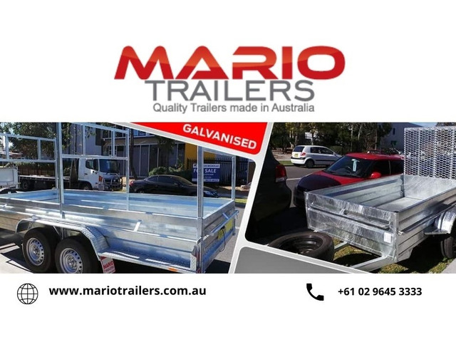 Buy high quality custom and Galvanised Trailers in Sydney - 1