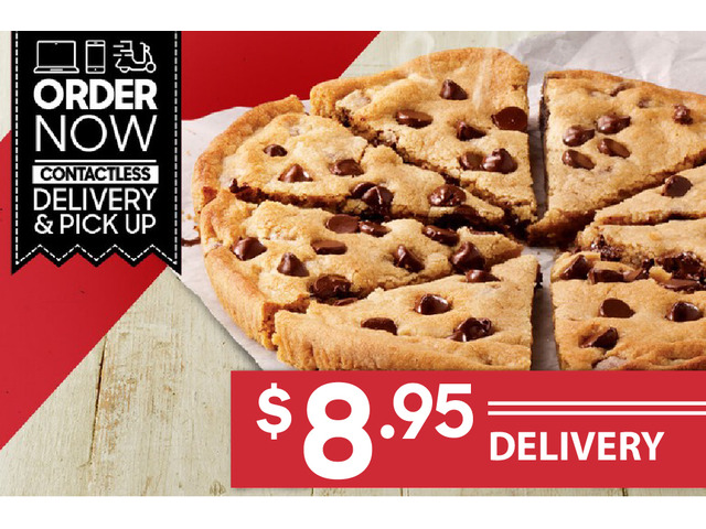 HERSHEY'S COOKIE For Sale Pizza Hut Orange - 1