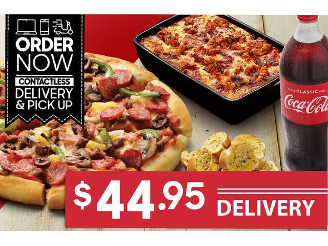 PIZZA PASTA MEAL For Sale Pizza Hut Orange - 1