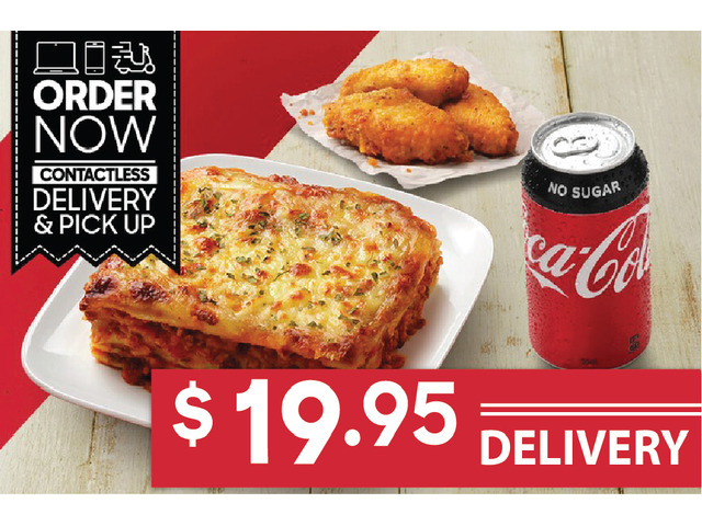 PASTA WINGS MEAL For Sale Pizza Hut Moorebank - 1