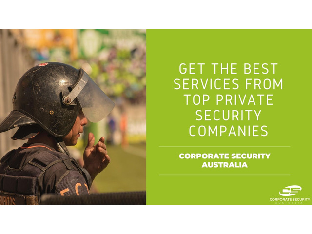 Hire Security from Top Private Security Company - 1