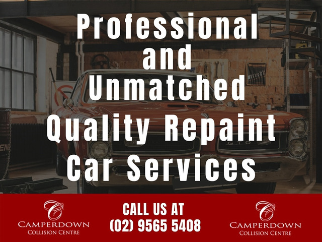 Professional and Unmatched Quality Repaint Car Services - 1