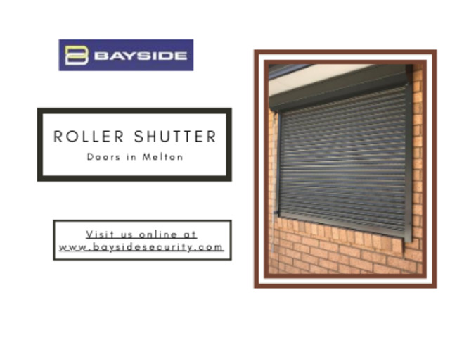 Buy roller shutters in Geelong and Melbourne –Bayside Security - 1