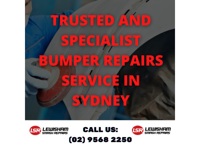 Trusted and Specialist Bumper Repairs Service in Sydney - 1