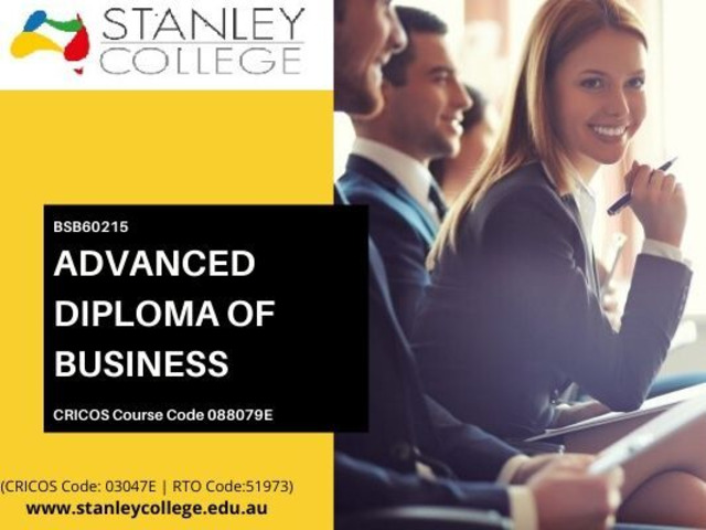 Thinking to make a career in advanced diploma of business in Australia? Apply Now! - 1
